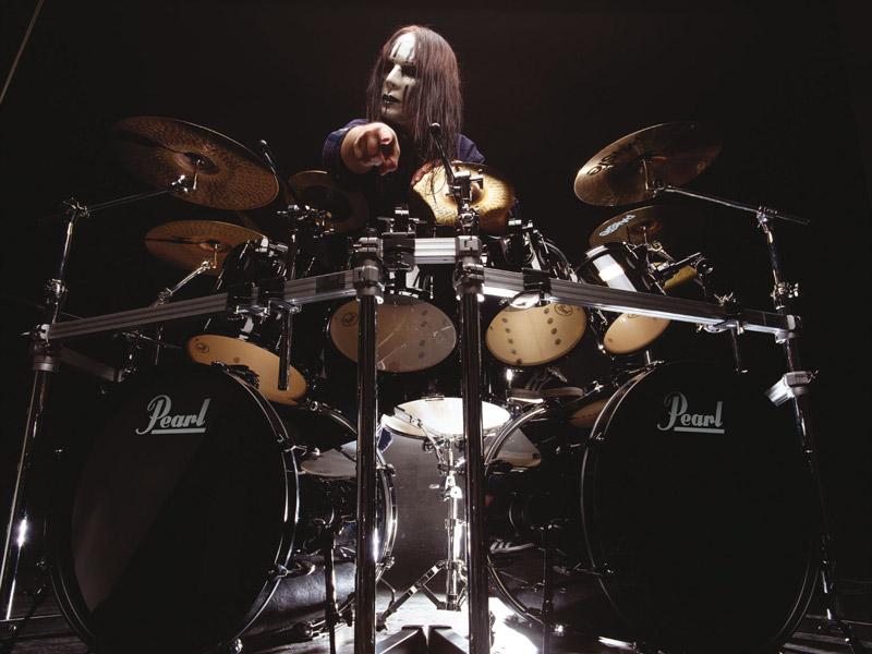 Joey Jordison 2000 Joe Satriani Joey Jordison