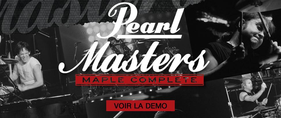 Redécouvrez les Pearl Masters Maple Complete