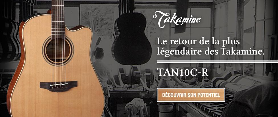 TAN10C-R, réédition de la plus légendaire Takamine