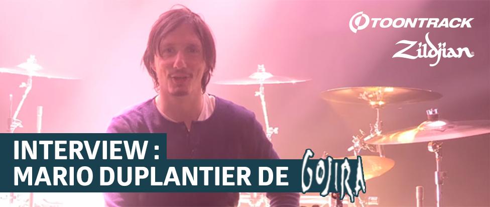 Interview de Mario Duplantier de Gojira
