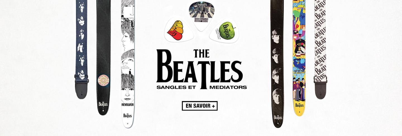 Sangles et médiators The Beatles