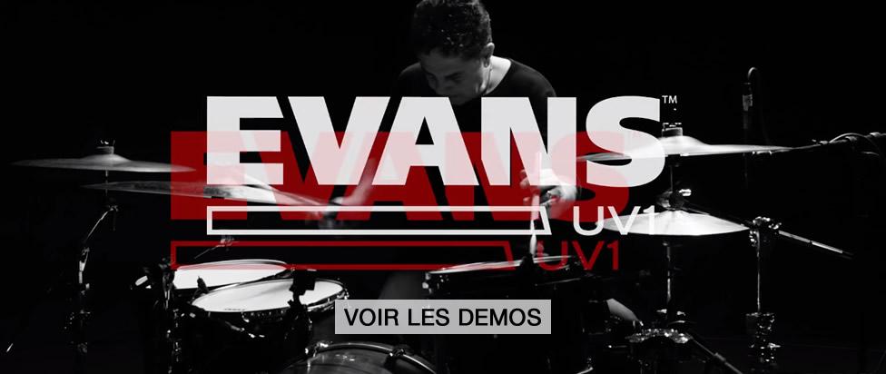 Peaux Evans UV1 : toutes les démos !