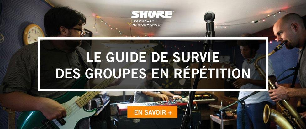 Le guide de survie des groupes en répétition