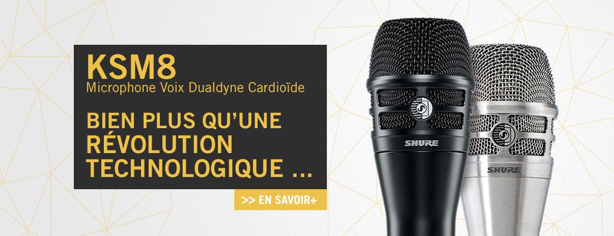 Microphone Voix Dualdyne Cardioïde