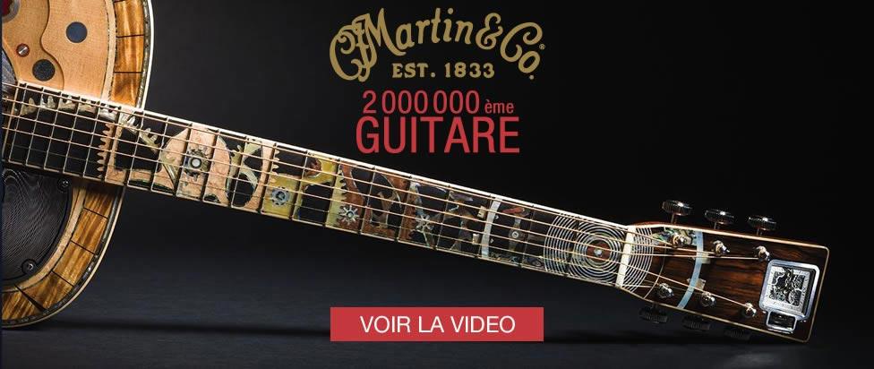Martin vient de produire sa 2 millionième guitare