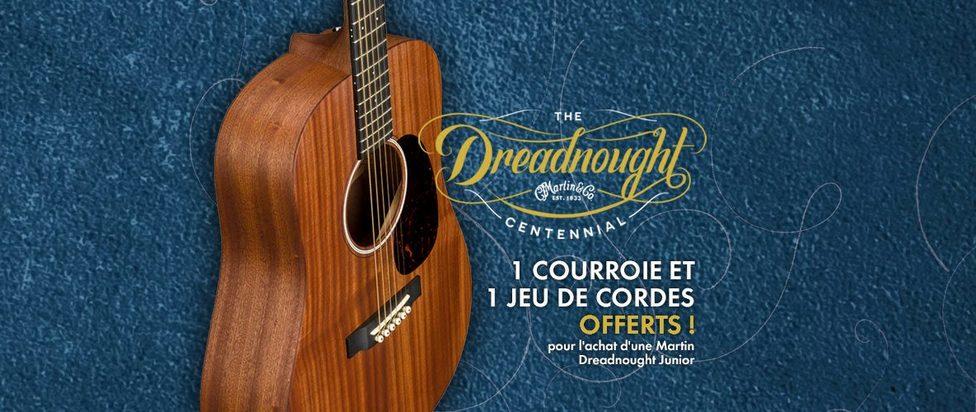 Martin Dreadnought Junior : offre exclusive !