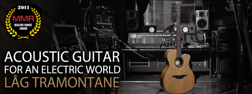 Acoustic guitars for an electric world