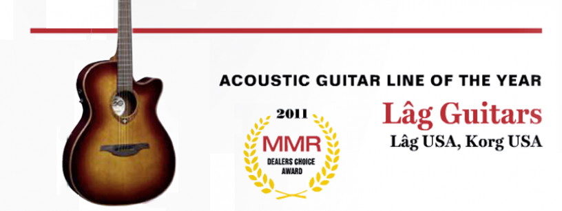 2011, a successful year for LÂG Guitars