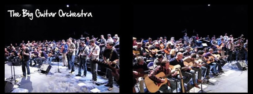 The Big Guitar Orchestra : une soirée gagnante !