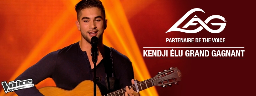 Kendji remporte The Voice 3 avec sa Lâg !