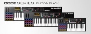 Les claviers M-Audio CODE, en finition BLACK !