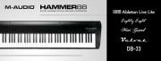 M-Audio dévoile son nouveau clavier Hammer 88 !