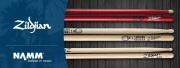 3 nouvelles baguettes Zildjian pour 2017 !