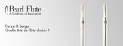 Pearl Flutes : quelle tête de flûte choisir ?