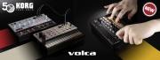 Les mini-synthés KORG Volca sont disponibles