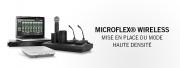 Un mode Haute Densité pour Shure MX Wireless