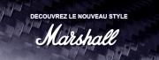 Le nouveau style Marshall !