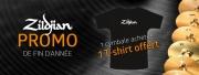 Promo Zildjian sur toutes les cymbales !!