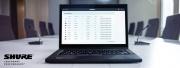 Shure SystemOn : nouveau logiciel de gestion
