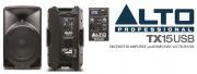 Nouvelle enceinte amplifée Alto Pro TX15USB