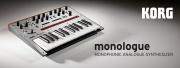 KORG monologue : synthé analogique monodique