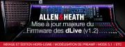 Allen & Heath dLive : MAJ importante du firmware