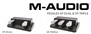 Pédales pour clavier M-Audio SP-Dual et Triple