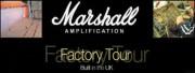 Visite guidée de l'usine Marshall
