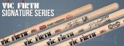 Démo vidéo nouvelles baguettes Vic Firth Signature