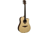 photo Dreadnought Cutaway electro Snakewood