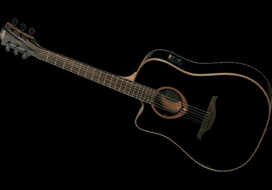 Lâg Guitares Folk TL100DCE-BLK