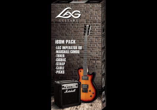 Lâg Guitares Electriques PACKI60M-TOS