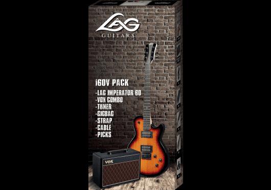 Lâg Guitares Electriques PACKI60V-TOS