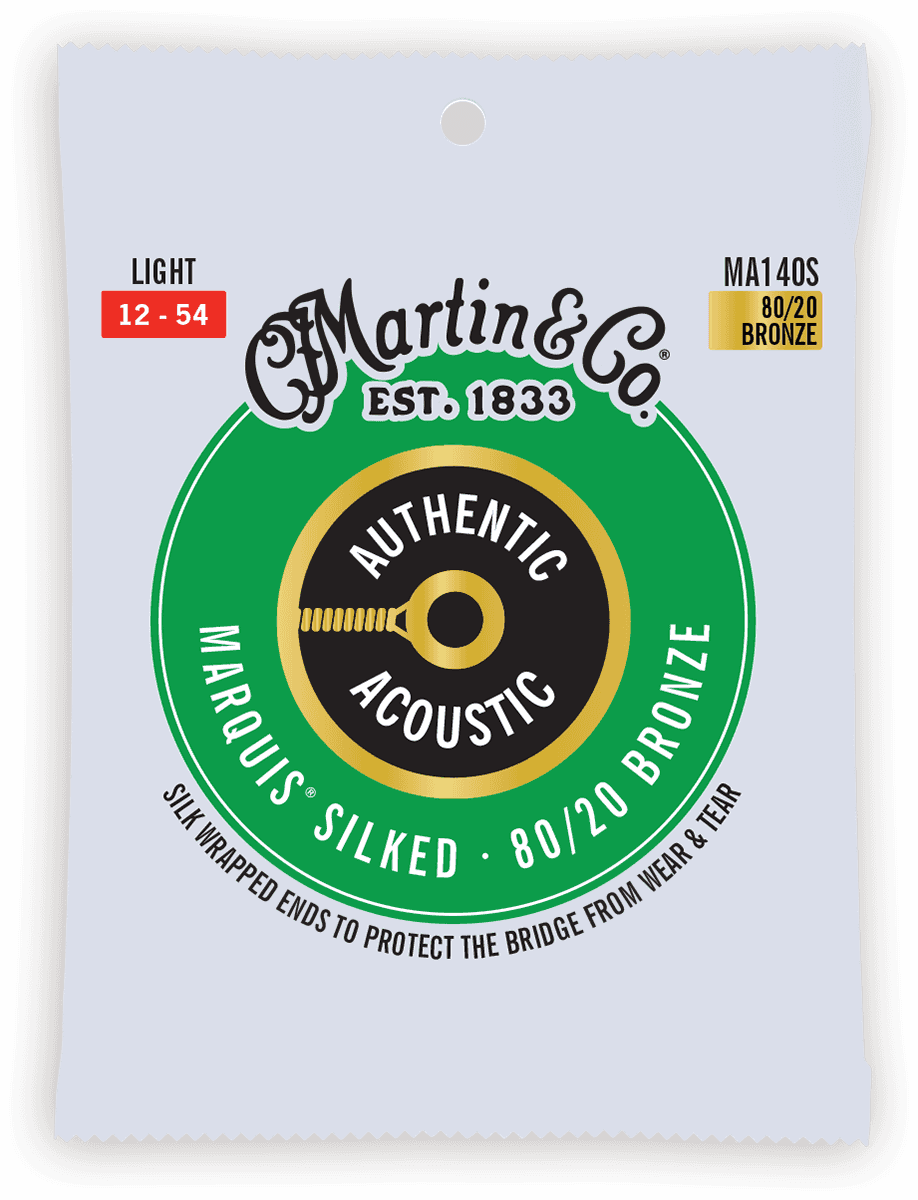 Martin Authentic Silked, Light, 80/20 MA140S