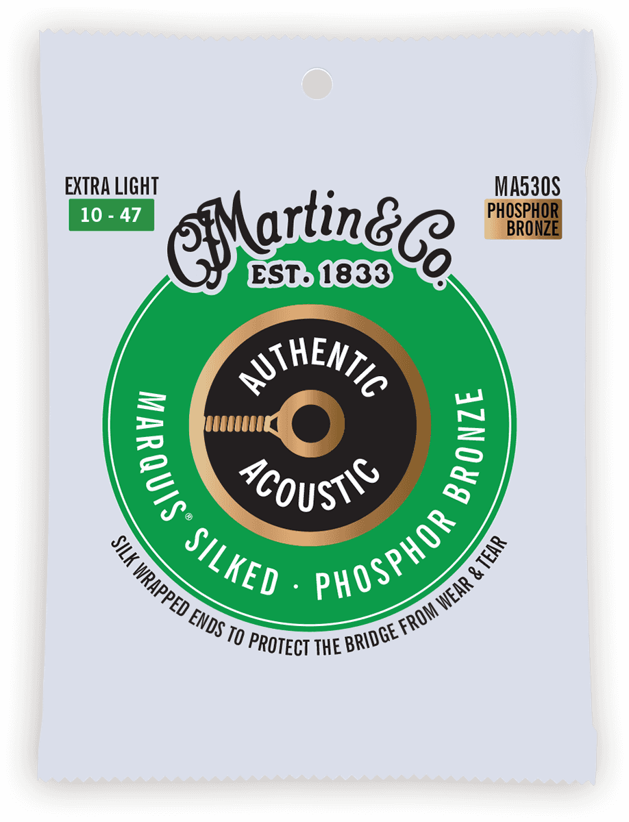 Martin Authentic Silked, Extra Light, 92/8 MA530S