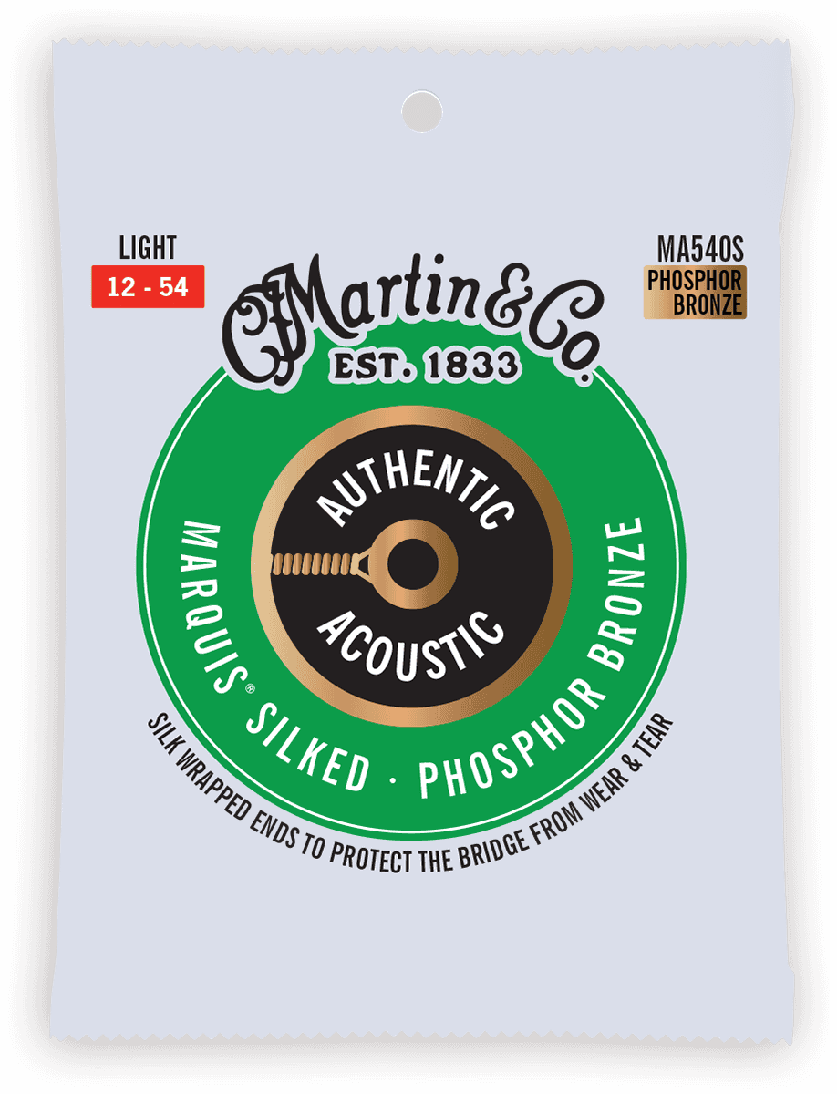 Martin Authentic Silked, Light, 92/8 MA540S