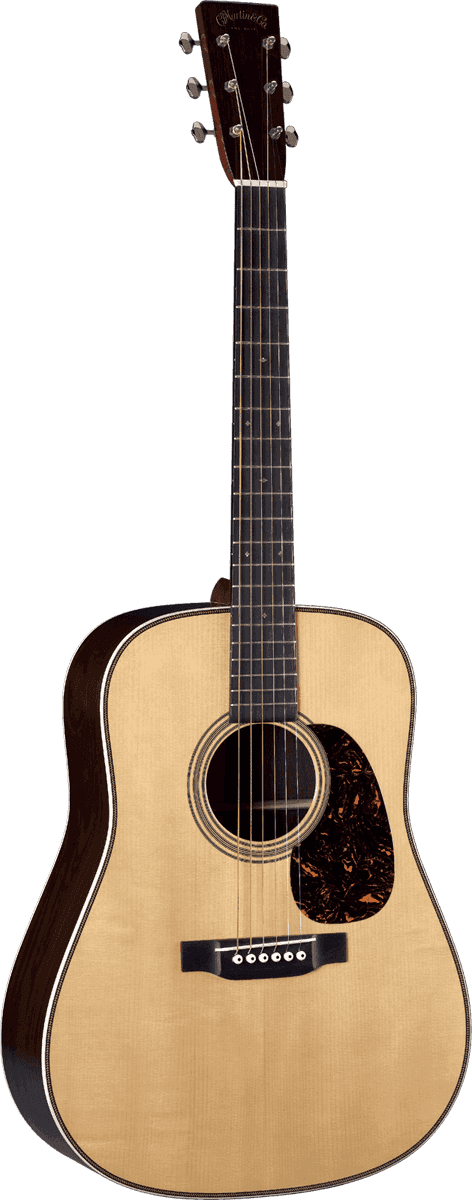 Martin Dreadnought Epicéa Adirondack/Paliss D-28-AUTH37