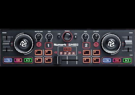 Numark Contrôleurs DJ2GO2