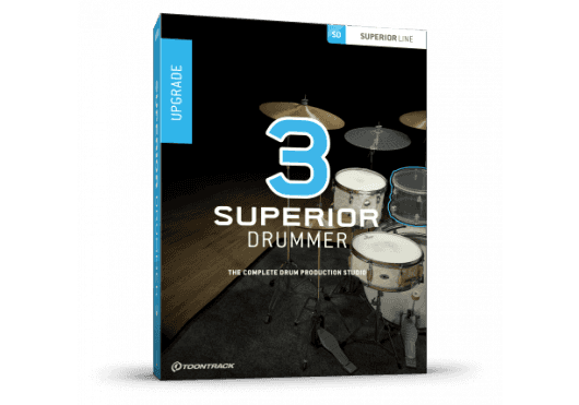 Toontrack SUPERIOR DRUMMER SD3SD2UG-SERIAL